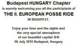2.Euro Posse Ride Budapesten
